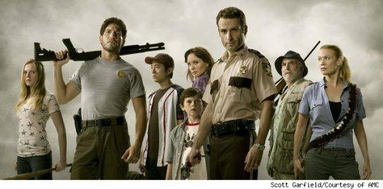 Cast of the Walking Dead Season 2
